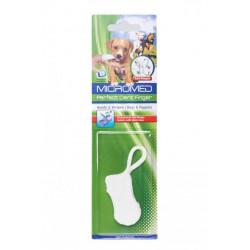 Fingerborste för hund