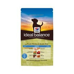 Hill´s Ideal Balance Puppy fresh chicken & brown rice 12 kg