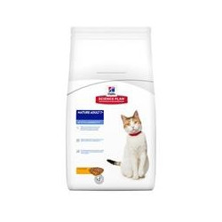 Hills Science Plan Feline Mature Chicken 7 +