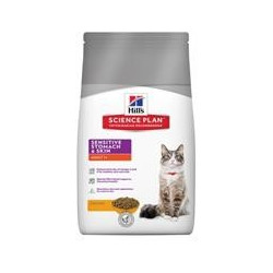 Hills Science Plan Feline Sensitive stomach chicken