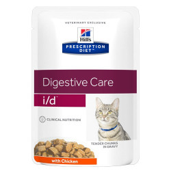 Hill's Prescription Diet Feline i/d portionspåse (12st x 85g)