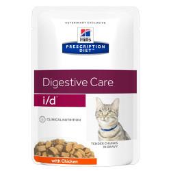Hill's Prescription Diet Feline i/d portionspåse (12st x 85g)