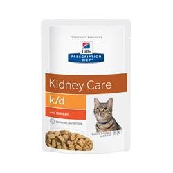 Hill's Prescription Diet Feline k/d portionspåse (12st x 85g)