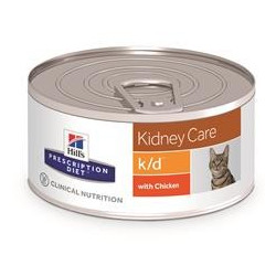 Hill's Prescription Diet Feline k/d Minced (24st x 156g burk)