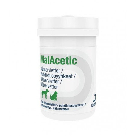 MalAcetic wet wipes 100 st