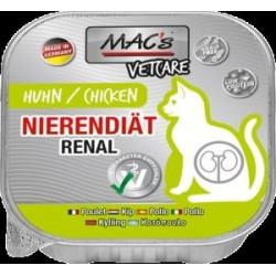 Mac´s Vetcare Renal chicken 100 g mousse