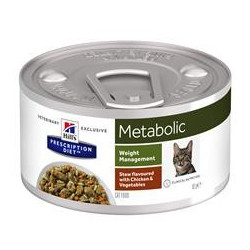 Hill´s Feline metabolic Stew  Chicken and Vegetables 82 g BURK