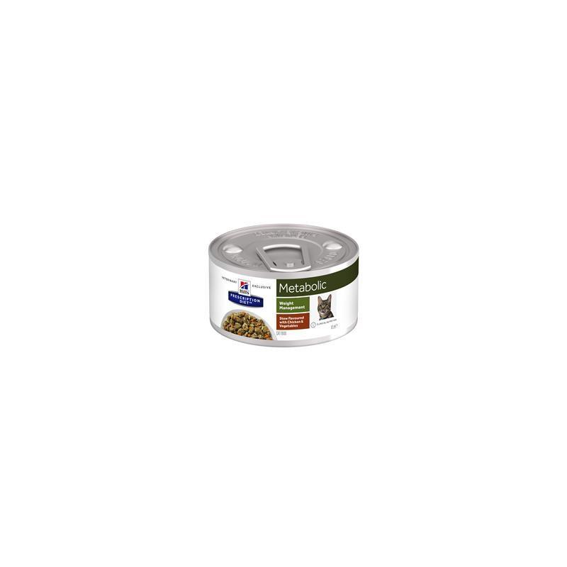 Hill´s Feline metabolic Stew  Chicken and Vegetables 82 g BURK