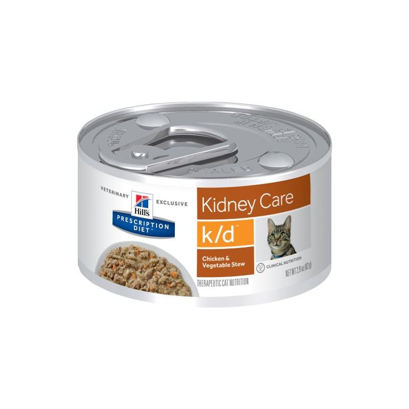 Hill´s k/d stew chiken and vegetables burk 82 g