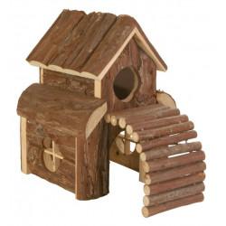 Hamsterhus med ramp