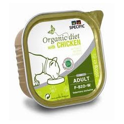 Specific organic diets kyckling 7 x 100 g
