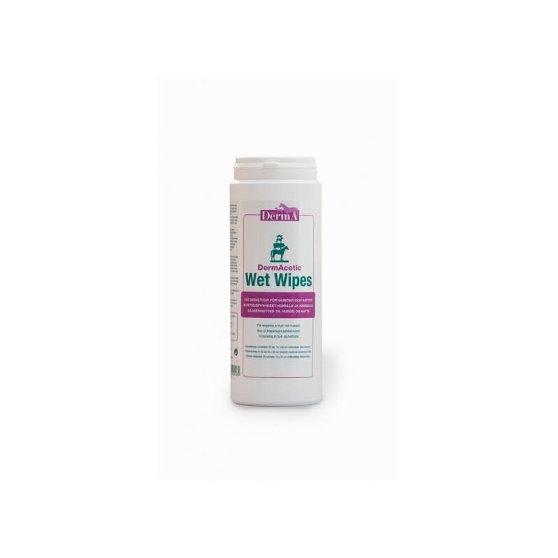 DermAcetic wet wipes 50 st